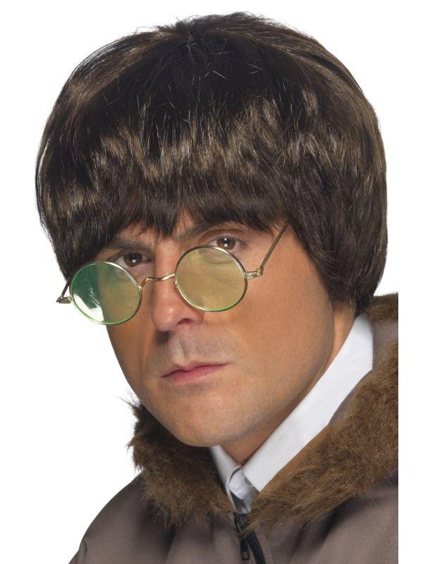 Paruka Britpop pánská hnědá (2-B) Smiffys.com
