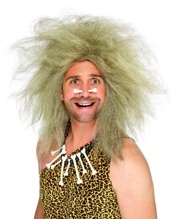 Paruka Crazy Caveman pračlověk (1-H) Smiffys.com