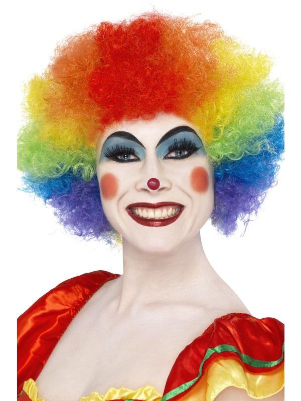 Paruka klaun barevná (3-B) Smiffys.com