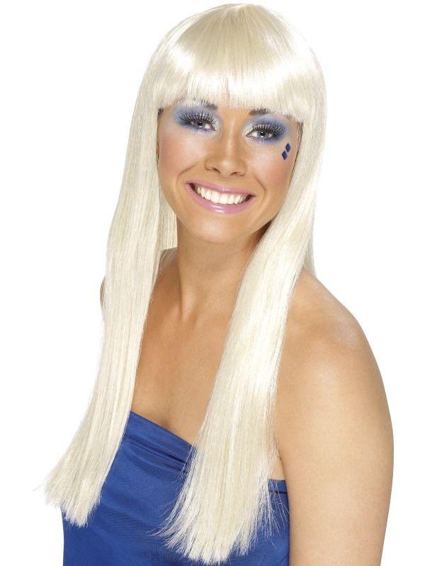 Paruka Dancing Queen blond (4-D) Smiffys.com
