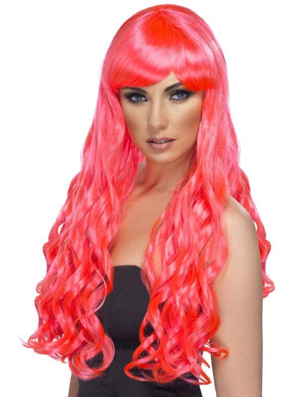 Paruka desire růžová (3-C) Smiffys.com