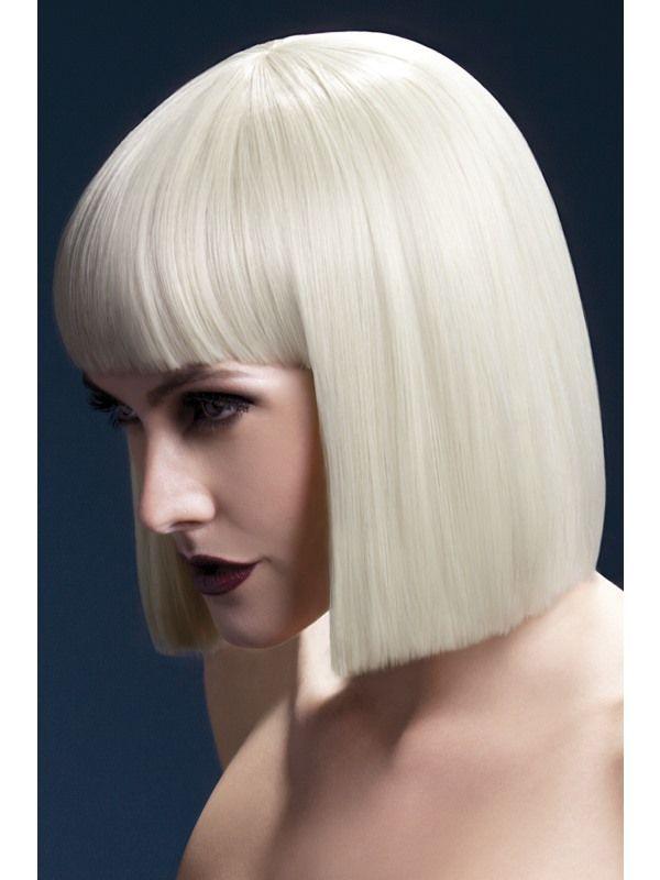 Paruka Lola Fever blond mikádo Smiffys.com