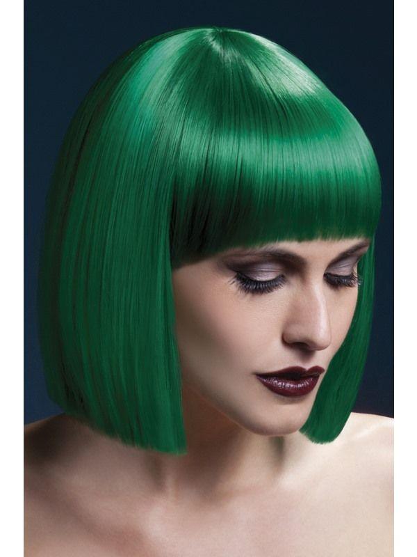 Paruka - Lola - Zelená Smiffys.com