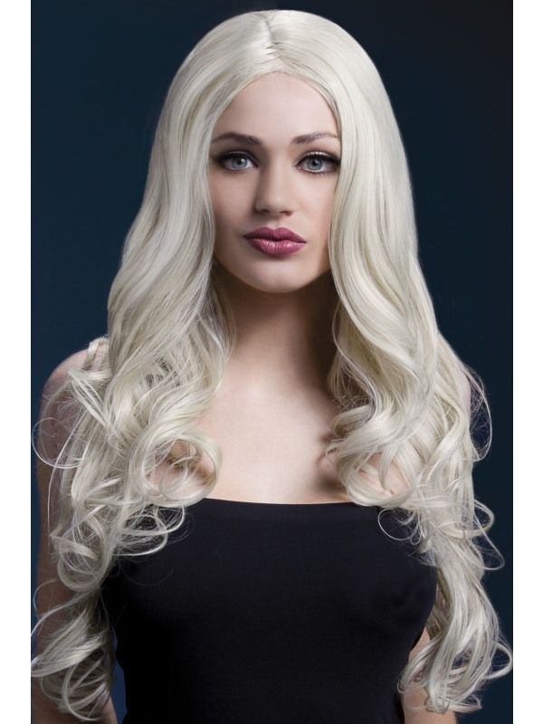 Paruka - Rhianne - Fever - blond Smiffys.com