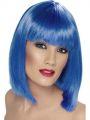Paruka - Glam - modrá (6-H)