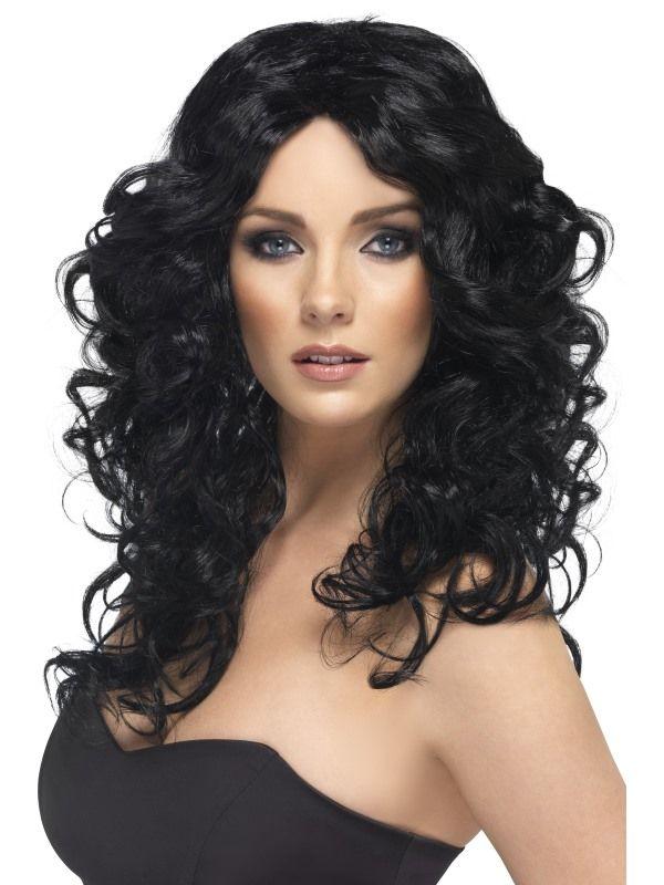 Paruka Glamour černá (5-C) Smiffys.com