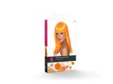 Paruka Glamourama oranžová neon dlouhá Smiffys.com