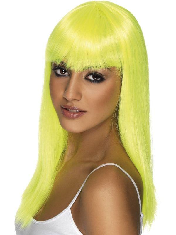 Paruka Glamourama žlutá (3-E) Smiffys.com