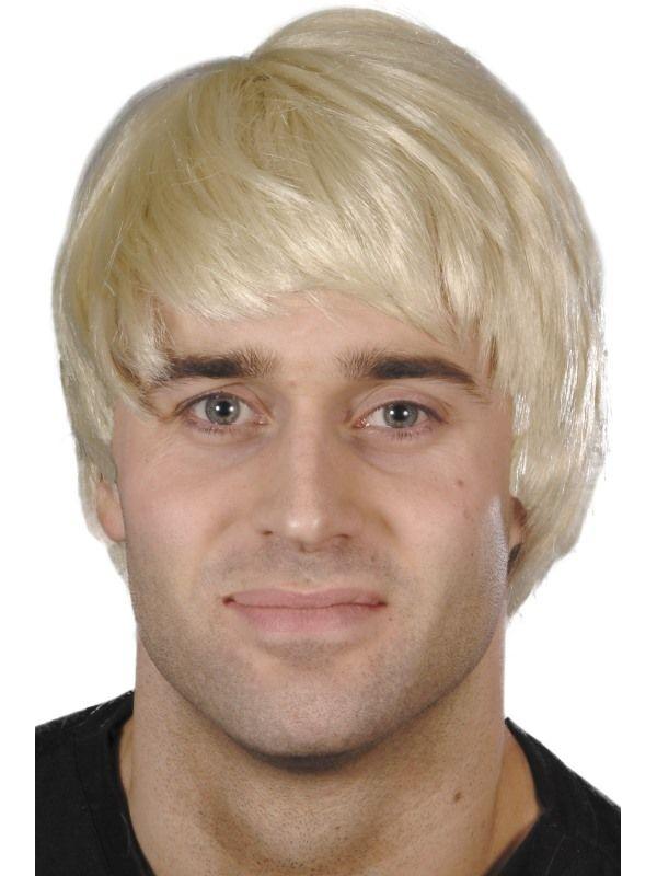 Paruka Guy pánská blond (2-D) Smiffys.com