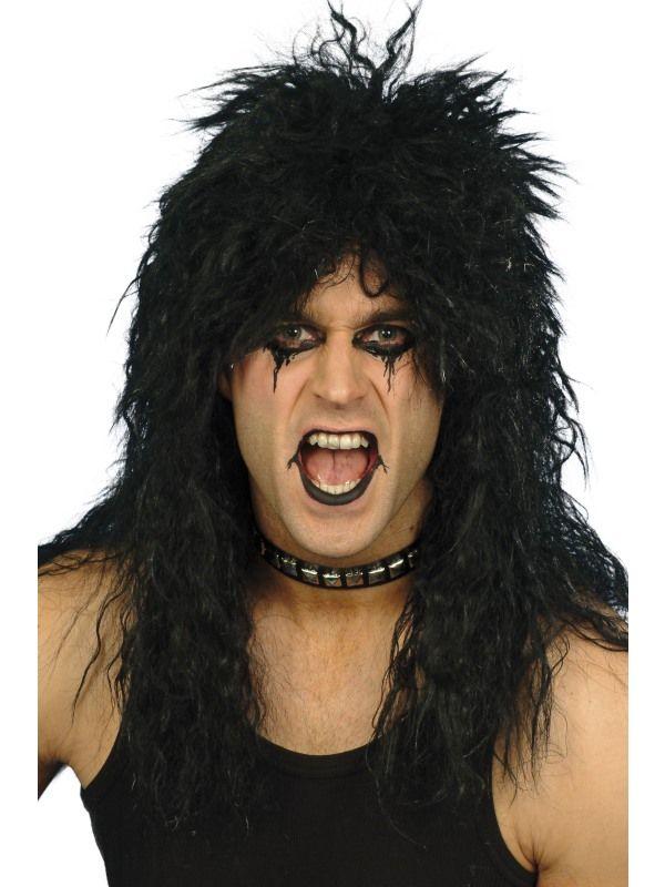 Paruka Hard Rocker černá (1-G) Smiffys.com