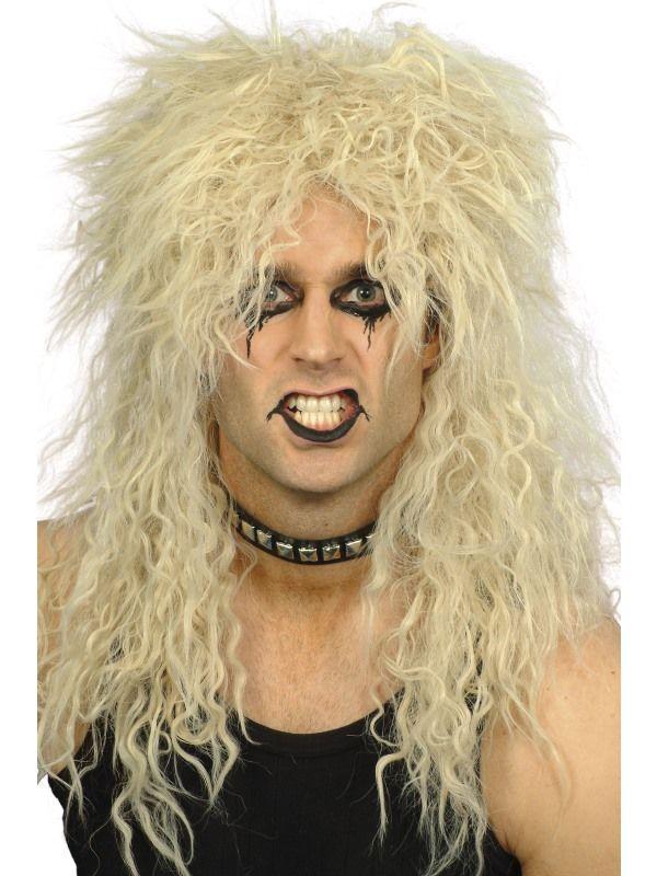 Paruka Hard Rocker blond (1-G) Smiffys.com