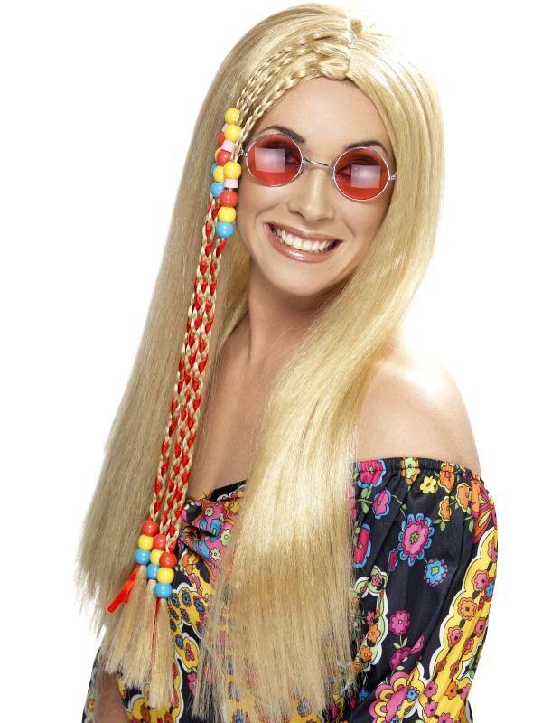 Paruka Hipís - blond (3-A) Smiffys.com