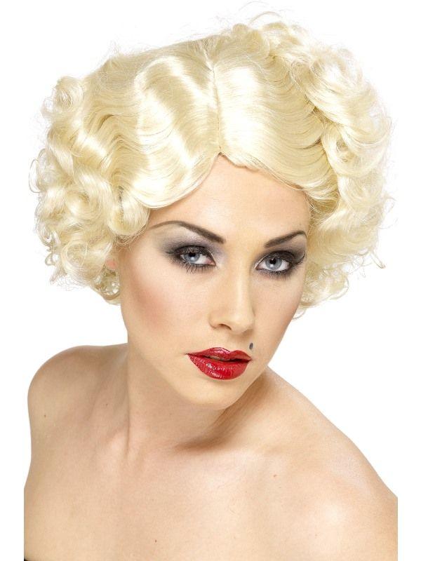 Paruka Hollywood - blond (4-A) Smiffys.com