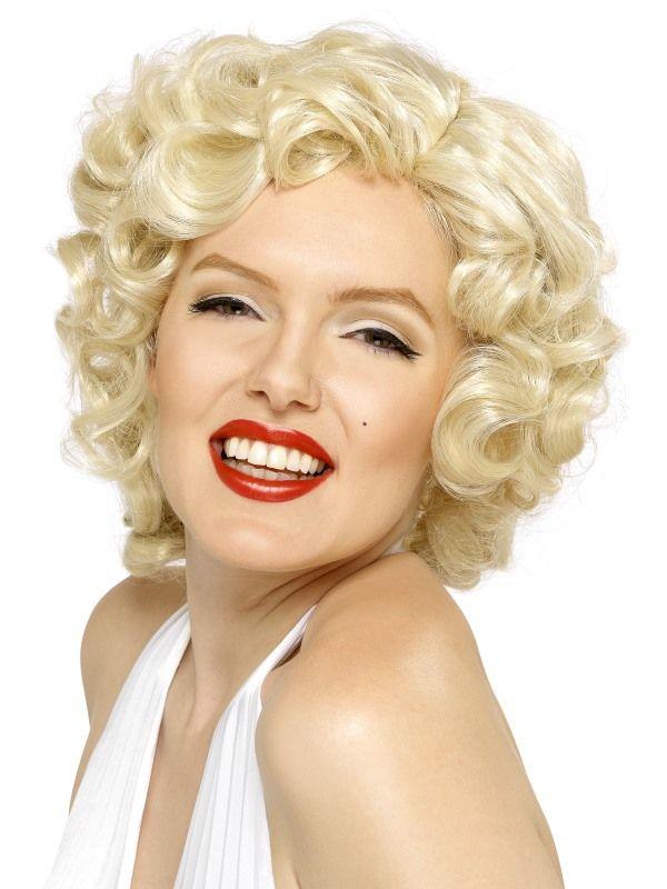 Paruka Marilyn Monroe blond (3-A) Smiffys.com