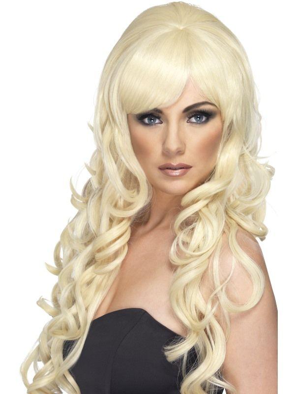 Paruka pop Starlet blond (4-E) Smiffys.com