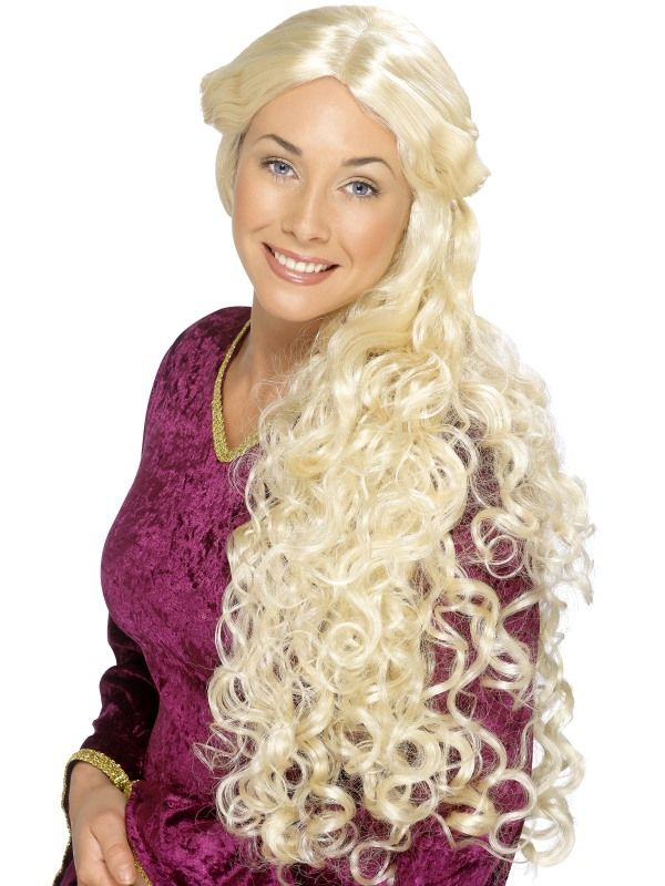 Paruka Guinevere blond (3-A) Smiffys.com