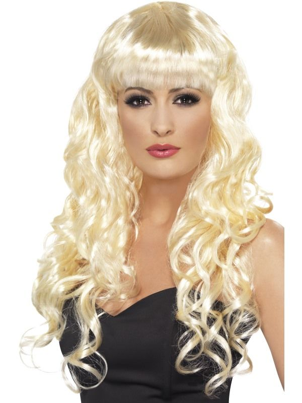 Paruka Siren blond (4-H) Smiffys.com
