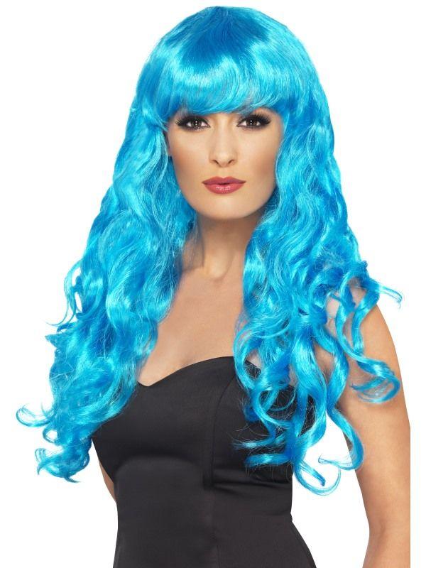 Paruka siréna modrá (6-H) Smiffys.com