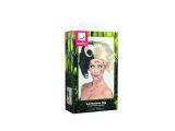 Paruka Evil Madame černobílá (5-C) Smiffys.com