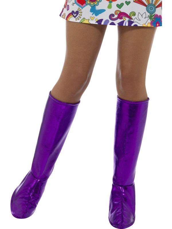 Návleky na boty - fialové (53) Smiffys.com