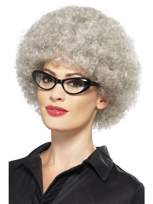 Paruka - Granny Perm Smiffys.com