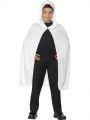 Dětský plášť - bílý s kapucí (84-G,85)