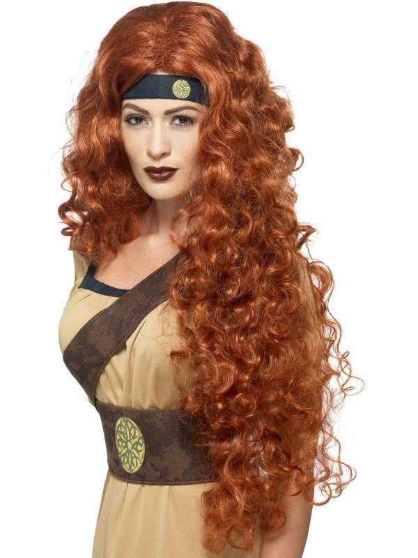 Paruka - Medieval Warior Queen Smiffys.com
