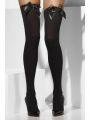 Punčochy černé s černou mašlí (31-C) Smiffys.com