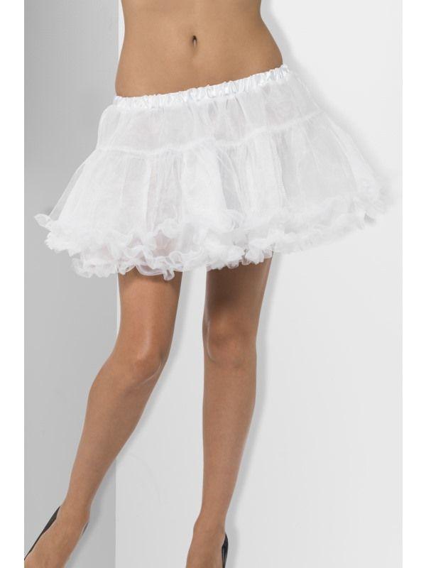 Spodnička - bílá (55) Smiffys.com