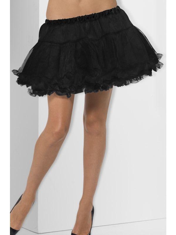 Spodnička - černá (55) Smiffys.com