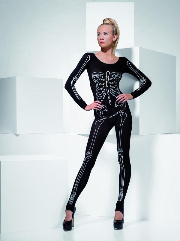 Body černé kostlivec (34) Smiffys.com
