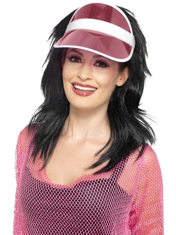 Kšilt růžový - 80 léta (17-J) Smiffys.com