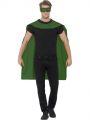 Plášť zelený + škraboška (84-G)