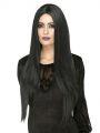 Paruka čarodějnice - černá dlouhá (7)