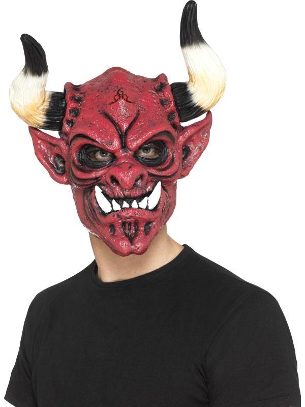 Maska čert krampus (89,124) Smiffys.com