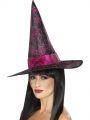 Klobouk čarodějnice - třpytky