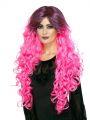 Paruka - Glamour - růžová (3-E)