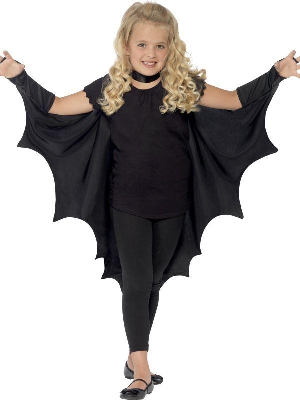 Plášť Bat dětský černý (85) Smiffys.com