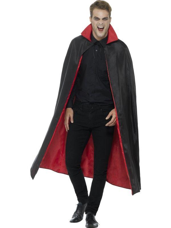 Plášť - upíří - černo- červený (84-E) Smiffys.com