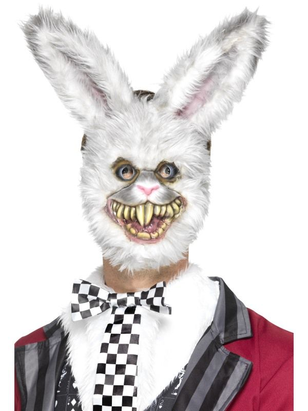 Maska - Bílý zajíček (64) Smiffys.com