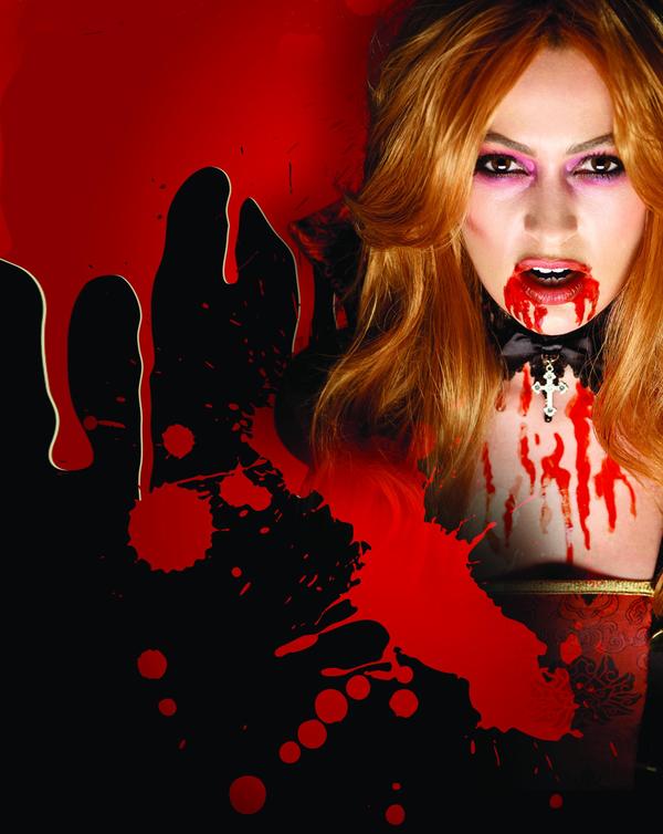 Krev upíří - 100 ml (15-D) Smiffys.com