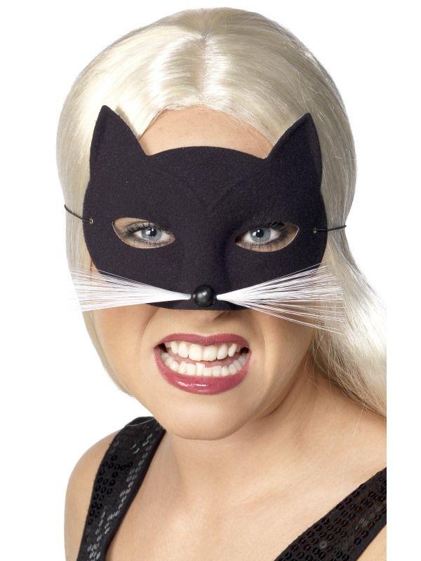 Škraboška kočka černá (19-G) Smiffys.com