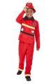 Dětský kostým - hasič - S (86-B)