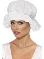 Čepice služka, bílá (53)