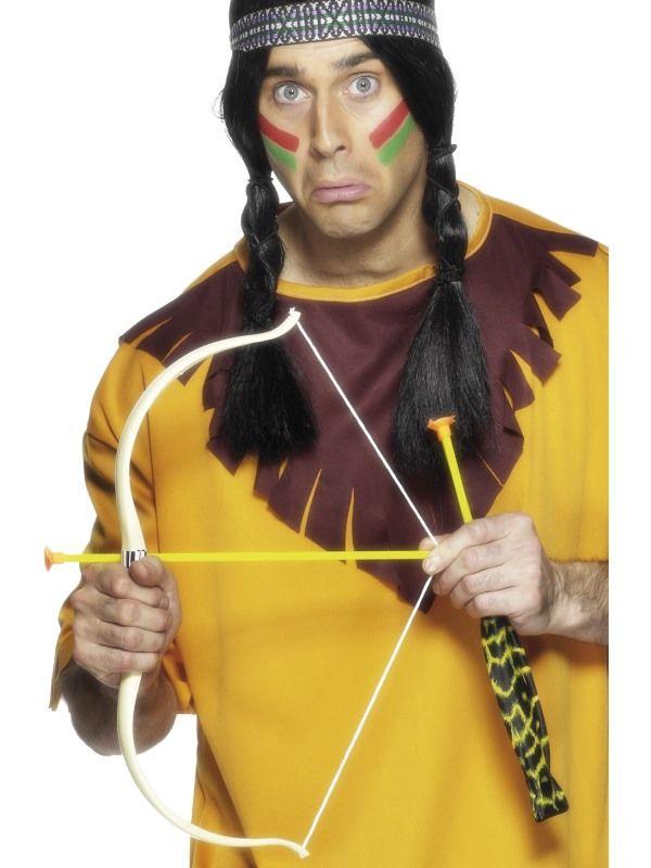 Luk se šípy pro indiána - 54cm (65) Smiffys.com