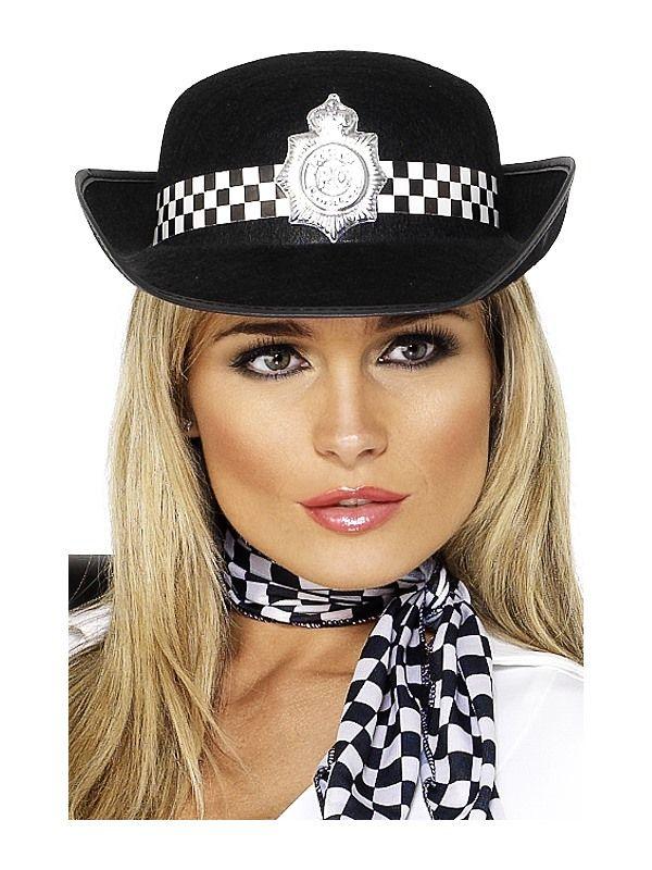 Čepice policie dámská 58cm (113-C) Smiffys.com