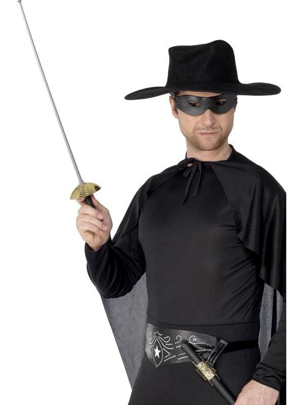 Šavle - Zorro + škraboška (94) Smiffys.com