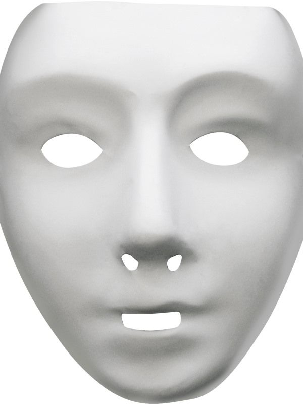 Maska robot plast (122-G) Smiffys.com