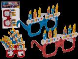 Brýle Happy Birthday papírové  , 4kusy  (48)