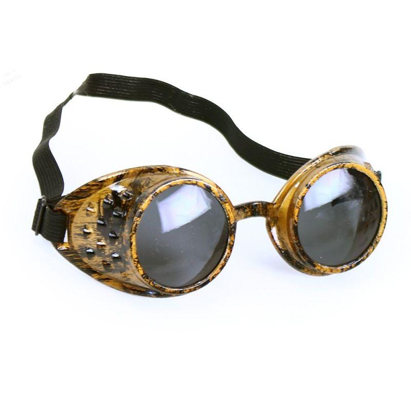 Brýle letecké retro - zlaté (48-B) Rappa
